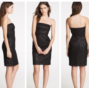 J. CREW Tinsel Lace Cocktail Dress NEW NWT 6